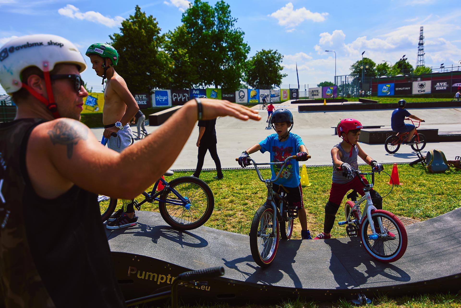 Warsztaty dla dzieci BMX Kowalewo